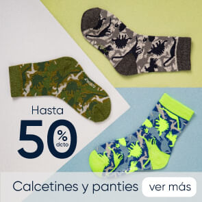 Calcetines y Panties hasta 50% dcto