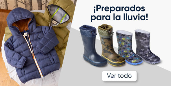 ¡Preparados para la lluvia!