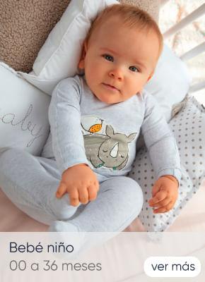 Bebé niño 0 a 12 meses