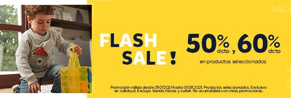 FLASH SALE 50% Y 60%  | COLLOKY