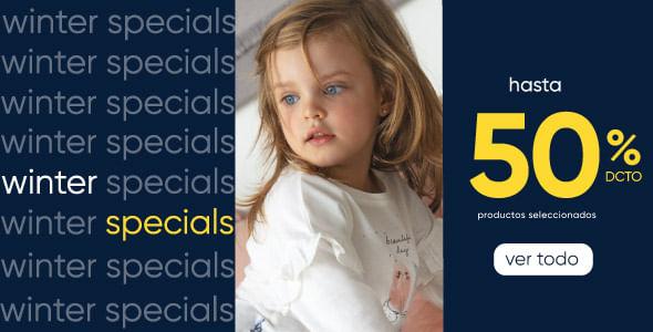 Winter Specials hasta 50% dcto en productos seleccionados