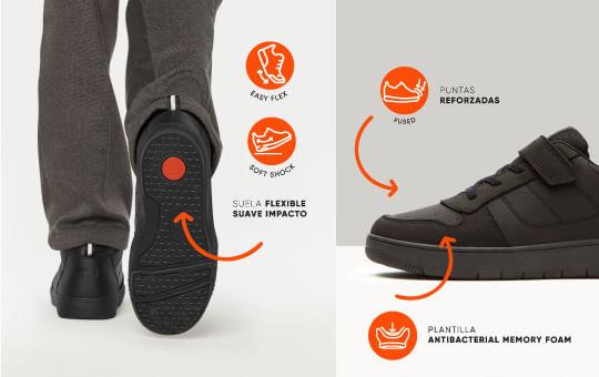 Caragterísticas zapatos escolar