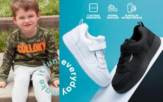 Características zapatos escolar