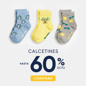 Calcetines hasta 60%
