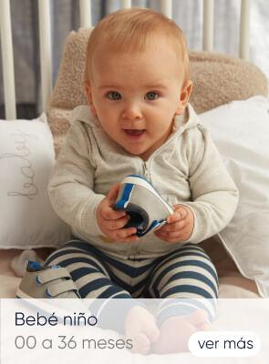 Bebé niño 0 a 36 meses