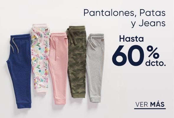 Pantalones, patas y jeans