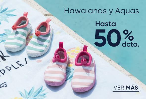 Hawaianas y aquas