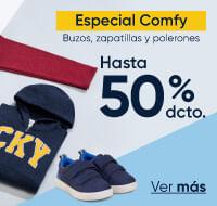 Especial Comfy hasta 50%