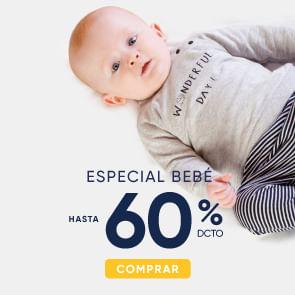Especial bebé hasta 60%