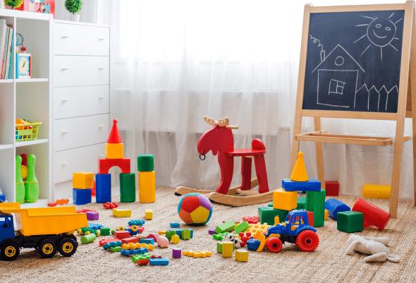¿Cómo desinfectar los juguetes de mi bebé?
