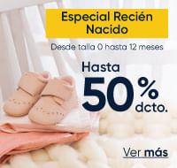 Especial recién nacido hasta 50%