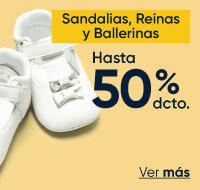 Sandalias reinas y ballerinas hasta 50%