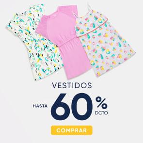 Vestidos hasta 60%