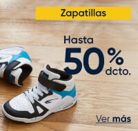 Zapatillas hasta 50%