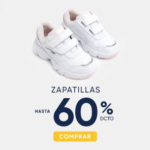 Zapatillas hasta 60%